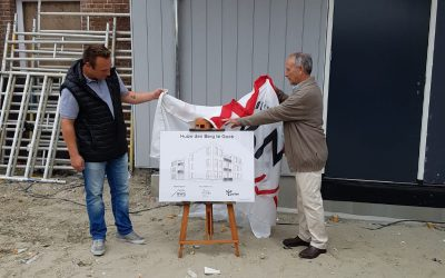 Onthulling Plaquette Woonlocatie Goes