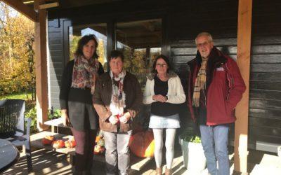 Familieraad Zeeuwse Gronden Op Werkbezoek Bij Plukvliet