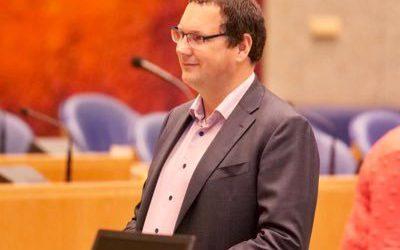 Tweede Kamerlid Rutger Schonis Op Werkbezoek Bij Locatie Middelburg
