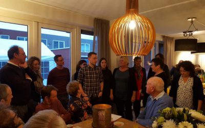 Feestelijke Nieuwjaarsontmoeting Op Locatie Bosburg In Yerseke