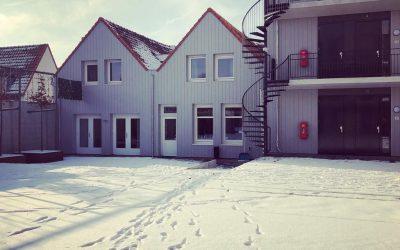 De Eerste Sneeuw Voor Woonlocaties Yerseke En Goes