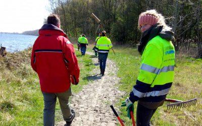 Realisatie Van Wandelpaden Door De Inzet Van Vele Vrijwilligers