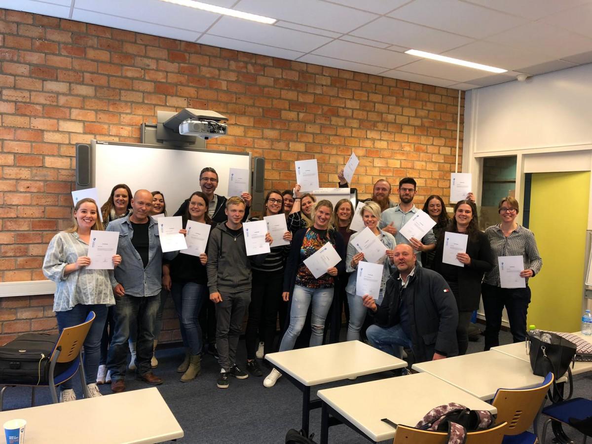 Seniors Van Alle Locaties Volgen Masterclasses Aan De Hogeschool Zeeland
