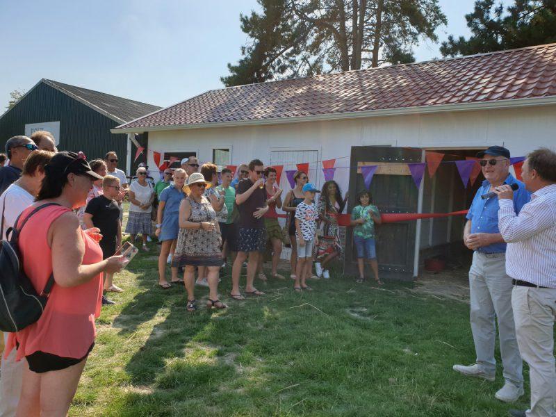 Tal Van Activiteiten En Ontmoetingen Tijdens De Jaarlijkse Barbecue