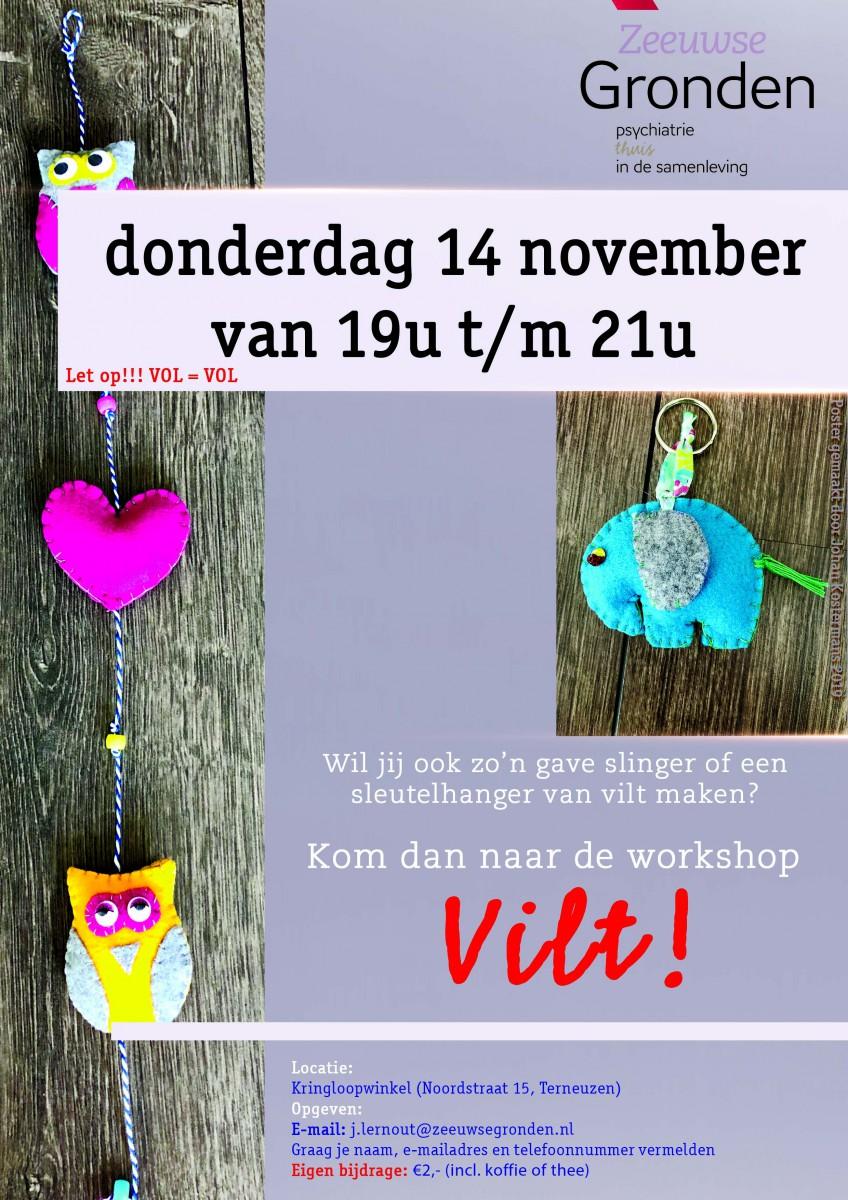 Workshop: Vilt!