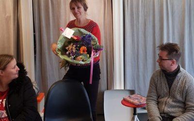 Veroniek Van De Rostijne Is 1 Maart 12,5 Jaar In Dienst