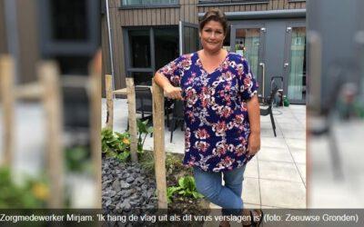 Interview Met Senior Mirjam Wedts Op Omroep Zeeland