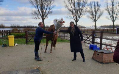Tweede Kamerlid Joba Van Den Berg Brengt Kerstgroet Aan Zeeuwse Gronden